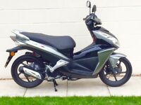 LAST ONE Stunning Honda NSC50R immaculate showroom cond (AEROX) FSH HPI clear Very low miles UK DEL