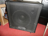 KUSTOM DE115 DEEP END BASS CABINET in excellent condition