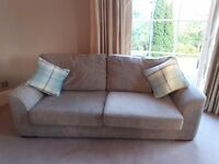2 and 3 seater Sofa DFS