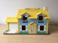 Dolls House - Fisher Price - complete with all contents in good condition - great Christmas present
