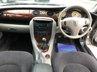 ROVER 75 CLUB SE —LOW MILAGE 45108 —STUNNING CONDITION