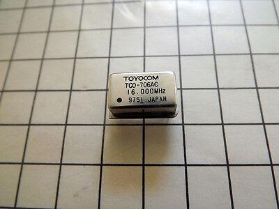 Toyocom Crystal Oscillator 16mhz Type Tco-706ac