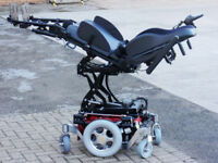 Salsa M HD. Powered Lift, Tilt, Recline, Legs, Led Lights. FREE Delivery. Electric Wheelchair.