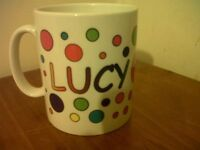 Personalised MUG CUP - LUCY