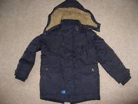 Next Boys Parker Style Padded Winter Coat (age 6)