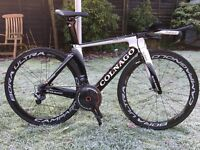 Colnago K-Zero Team Issue Thomas Voeckler Time Trial Bike (not Team Sky,Specialized S-Works)