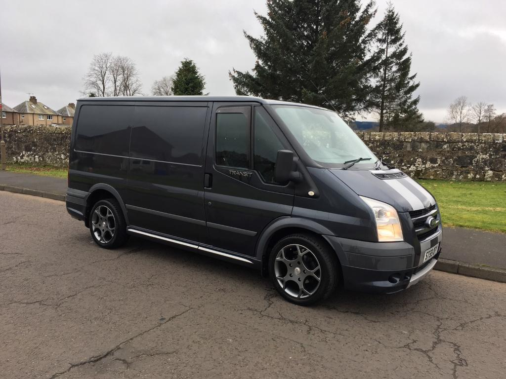 ford transit sport 140 1 previous keeper sea grey in stirling gumtree. Black Bedroom Furniture Sets. Home Design Ideas