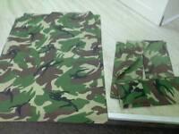Camouflage set single bed