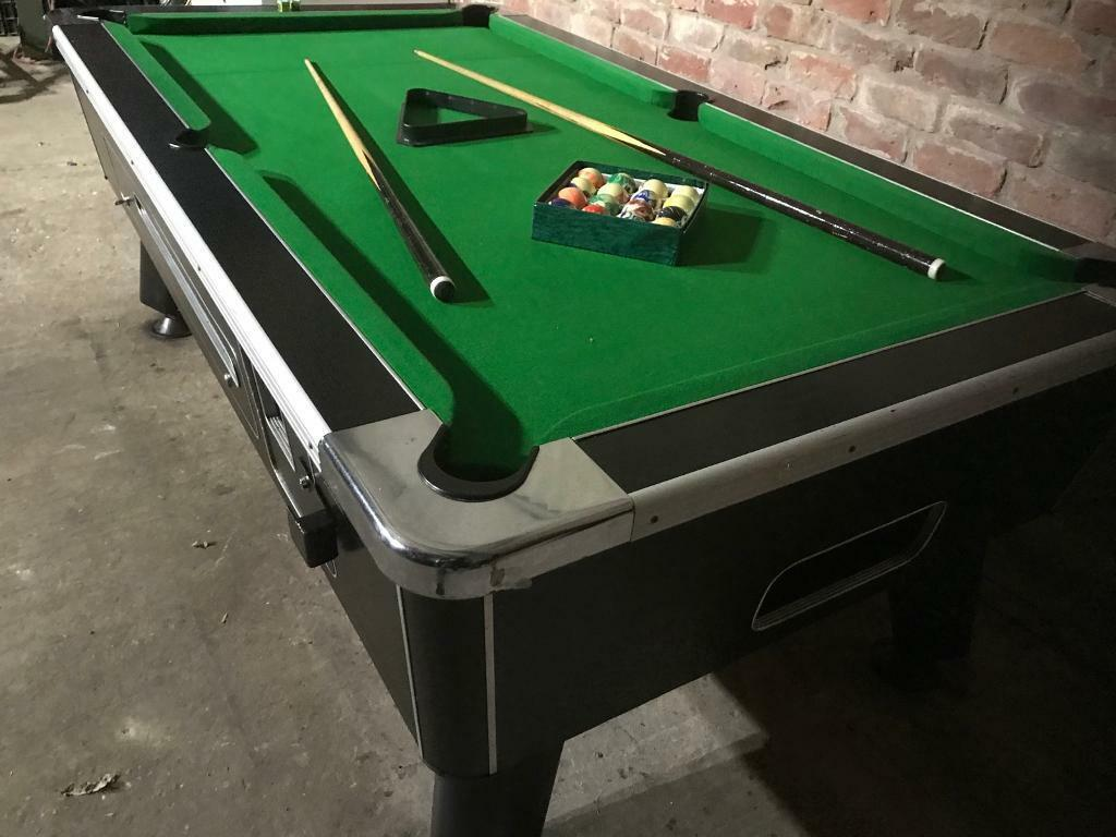 Pool Table X Ft Slate Bed Brand New Cloth In Kirton - I want to sell my pool table