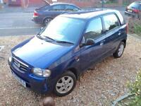 Suzuki Alto 1.1 £30 /year tax New MOT