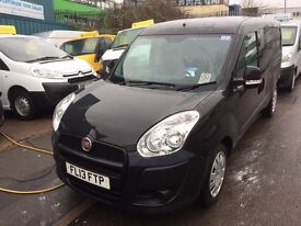 NEW SHAPE FIAT DOBLO MAXI/LWB VAN 1.3CDTI 2013/13REG 116K 3 MONTH WARRANTY £2999 PLUS VAT