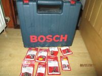 Bosch GKF 600 Router with 8 Trend Router bits
