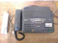 PANASONIC DIGITAL ANSWERING SYSTEM FAX MACHINE PHONE KX-F2700 Low Battery