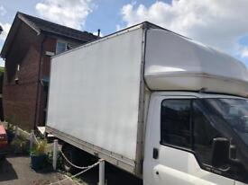 Ford transit Luton / box body with tail lift
