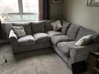 Dual facing corner sofa (Mink)