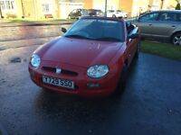 MGF 1.6 2001 Convertible Full Years MOT 30550 Miles