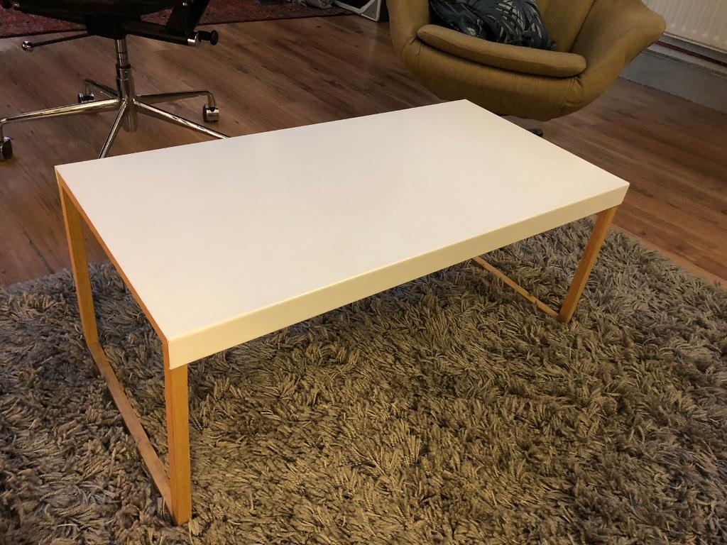 Habitat Kilo Oak And Metal Coffee Table