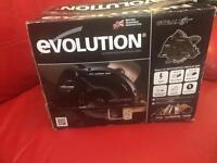 NEW Evolution skill saw , 240v, special edition , 1200w