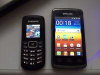 Samsung S5690 Galaxy Xcover & E1080W