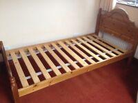 Pretty Pine Single Bed Frame