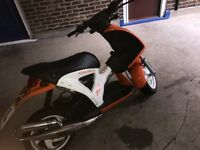 Gilera Ice 172cc registered as 49cc *SWAP OR BUY*