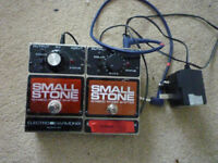 electro harmonix smallstone eh4800 stereo phase shifter/power supply
