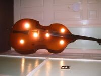 DOUBLE BASS LARGE WITH A DIFFERENCE MAN CAVE ETC PUBLBAR