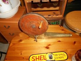 antique bellow/air blower