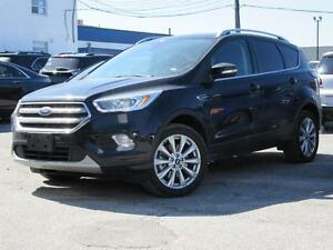2017 Ford Escape Titanium Leather,Sunroof,Navigation,Blind Spot,