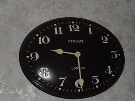 Wall mounted 'NEWGATE' clock