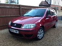 Fiat Punto 2004.Immaculate Cond. Low Mileage. Full Service History.