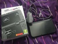 Nintendo new 3ds XL metallic black 30 games boxed with charger