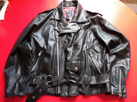 Vegan, non-leather, lined, 50's style Biker Jacket