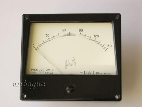 Microampere meter 150uA suitable for KALIBR L1-3 or L3-3 VACUUM TUBE TESTER