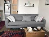 Barker and Stonehouse 4 seat Grey Myers Sofa