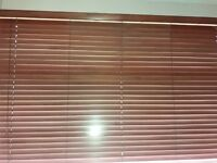 Wooden blinds Chestnut colour