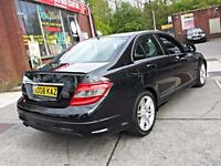 2008 MERCEDES BENZ C220 SPORT,AMG SPEC,170 BHP,6 SPEED MANUAL,2OWNERS,SERVICE HISTORY,CHEAP CAR,PX..