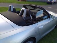 BMW Z4 ROADSTER CONVERTIBLE LOW MILES FSH ELECTRIC ROOF (SWAP PX P/X P/EX PART EXCHANGE WHY?)