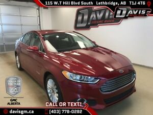 Used 2013 Ford Fusion Hybrid SE-Heated Leather, Navigation