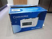 30L Mini oven with Hotplates