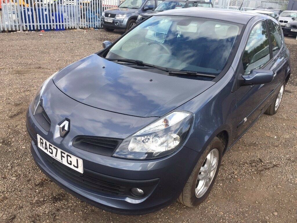 2007 RENAULT CLIO 1.2, LOW MILEAGE,ONLY 1 FORMER KEEPER