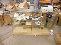 MODERN SHOP GLASS COUNTER FOR SALE