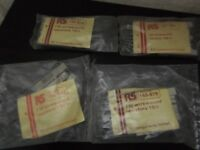 rs stereo components 7w wirewound resistors old new stock