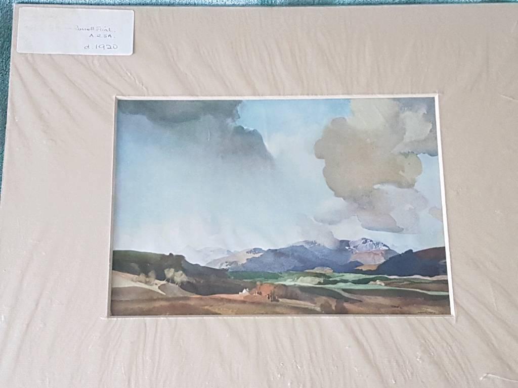 Russel flint print
