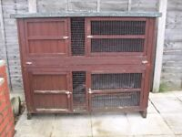 2 Storey hutch in need of attention FREE