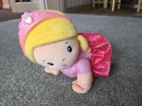 Fisher Price crawling doll