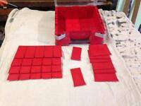 Brand new plastic organising box