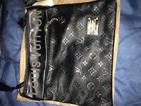 Louis Vuitton shoulder bag new condition black colour medium size