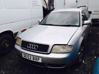 Audi a6 1.9 tdi diesel spare parts estate 2002 year engine gearbox