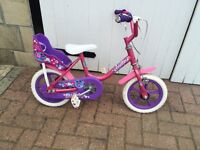 """Girl's Raleigh """"Friends"""" fun first bicycle"""